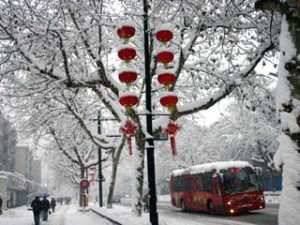 Зима в Шанхае