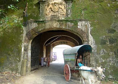 Главные ворота Форта Галле