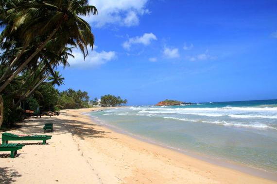 Пляжи Мирисса, Шри-Ланка