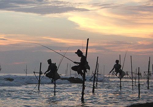 Велигама, рыбаки