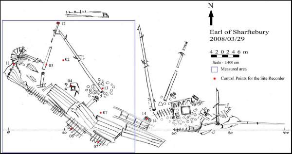 Затонувший корабль Earl of Shaftsbury в Хиккадуве