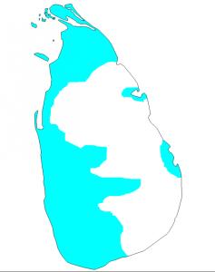 Португальские владения на Шри-Ланке в период максимального расцвета